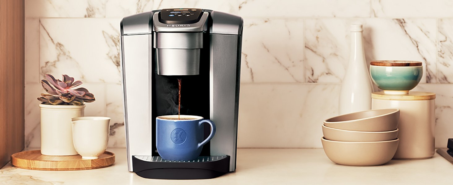 Keurig K-Elite C Single Serve Coffee Maker 15 K-Cup Pods and My K-Cup