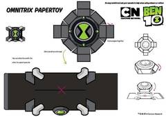 View Omnitrix Paper Toy PDF