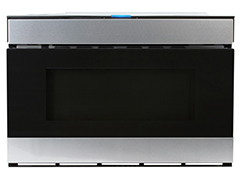 Sharp 1 2 Cu Ft Built In Microwave Stainless Steel