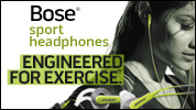 Bose® SIE2i sport headphones (Green)