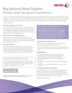View Protect your hardware investment. PDF