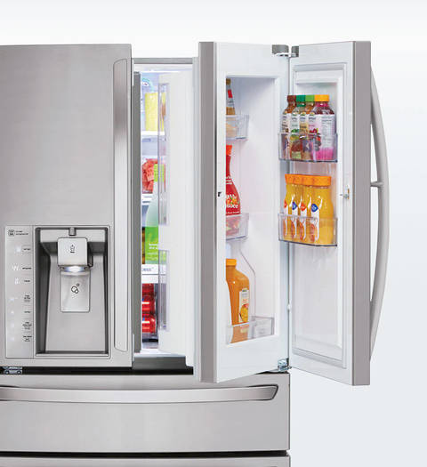 the lg doorindoor puts family favorites front and center use it for beverages snacks condiments u2013 you name it u2013 for convenience