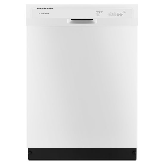 Amana ADB1400AG 24 Inch Wide 12 Place Setting Energy Star Rated Built-In Dishwas White