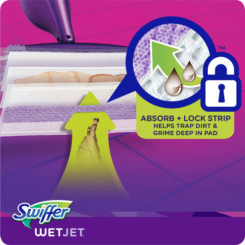 Swiffer Wetjet Pad Refills Pack Of 24 Office Depot