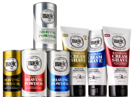 Magic Fragrant Shaving Powder Gold Target