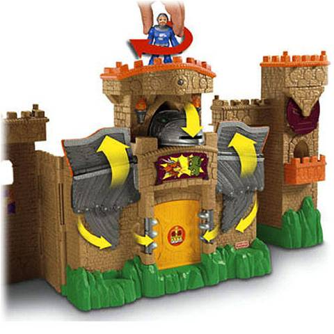 FisherPrice Imaginext Eagle Talon Castle Play Set  Walmartcom