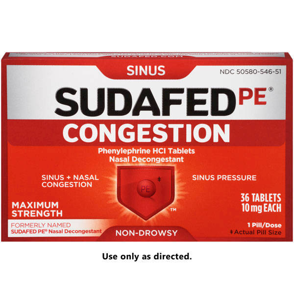 Sexual favors for sudafed