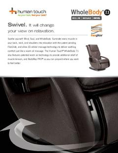 View Human Touch WholeBody 7.1 Massage Chair PDF
