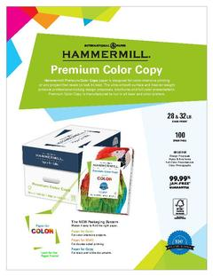 View Premium Color Copy Product Sheet PDF