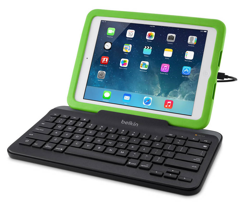 Belkin Wired Tablet Keyboard with Stand - B2B130 - Tablet ...