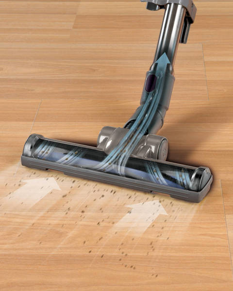 Rubber Wheels And Felt Treads Wonu0027t Scratch Or Mark Floors, And The Brush  Has Extra Soft Bristles So You Can Clean With Peace Of Mind. Finally, A  Vacuum ...