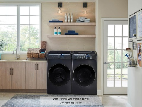 Samsung 4 5 + 1 0 Cu  Ft  Flexwash Washer | Washers & Dryers
