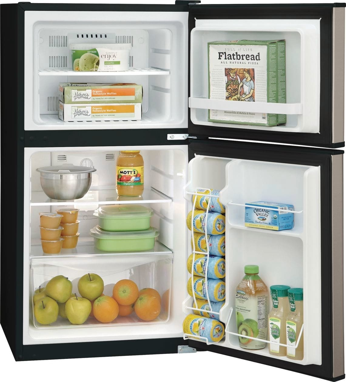 Miraculous Frigidaire 4 5 Cu Ft Freestanding Mini Fridge Freezer Compartment Wiring Digital Resources Funiwoestevosnl