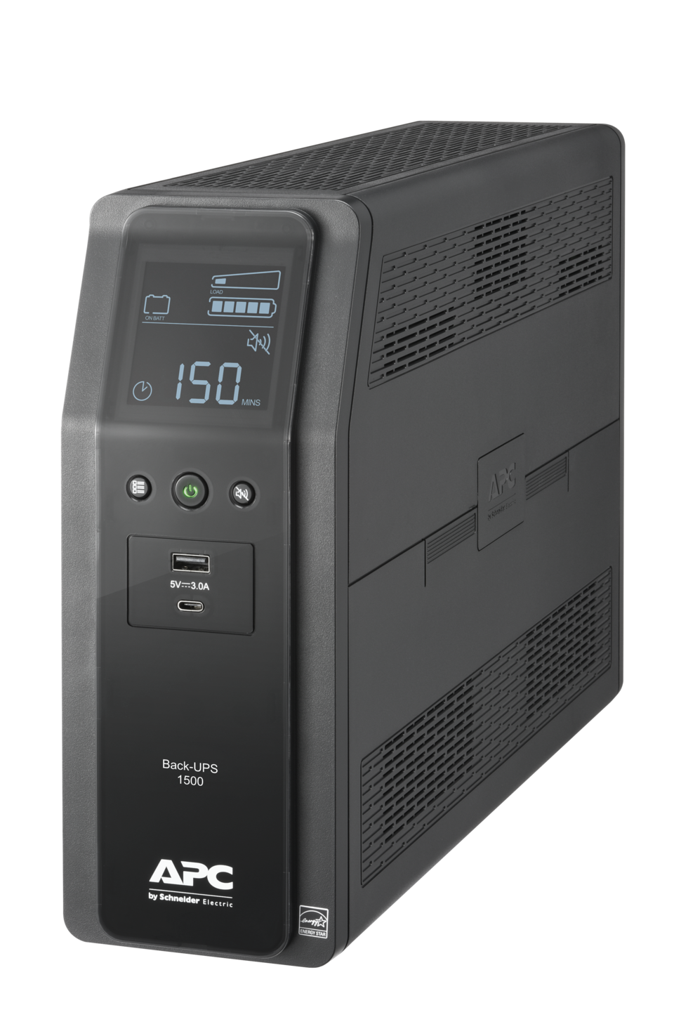 Premium battery backup and surge protection for