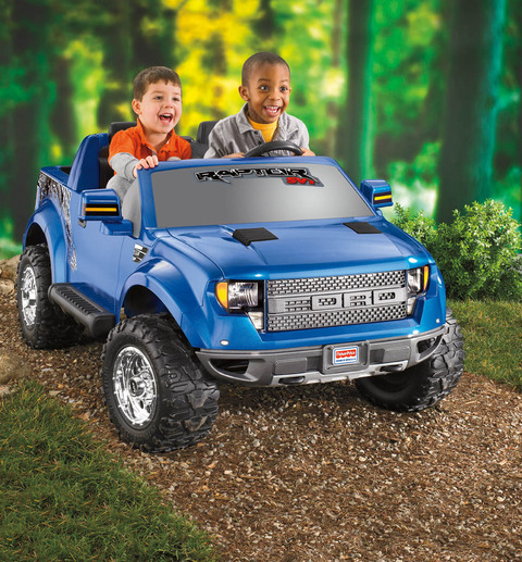 fisher price power wheels ford f 150 raptor 12 volt battery powered ride on walmartcom
