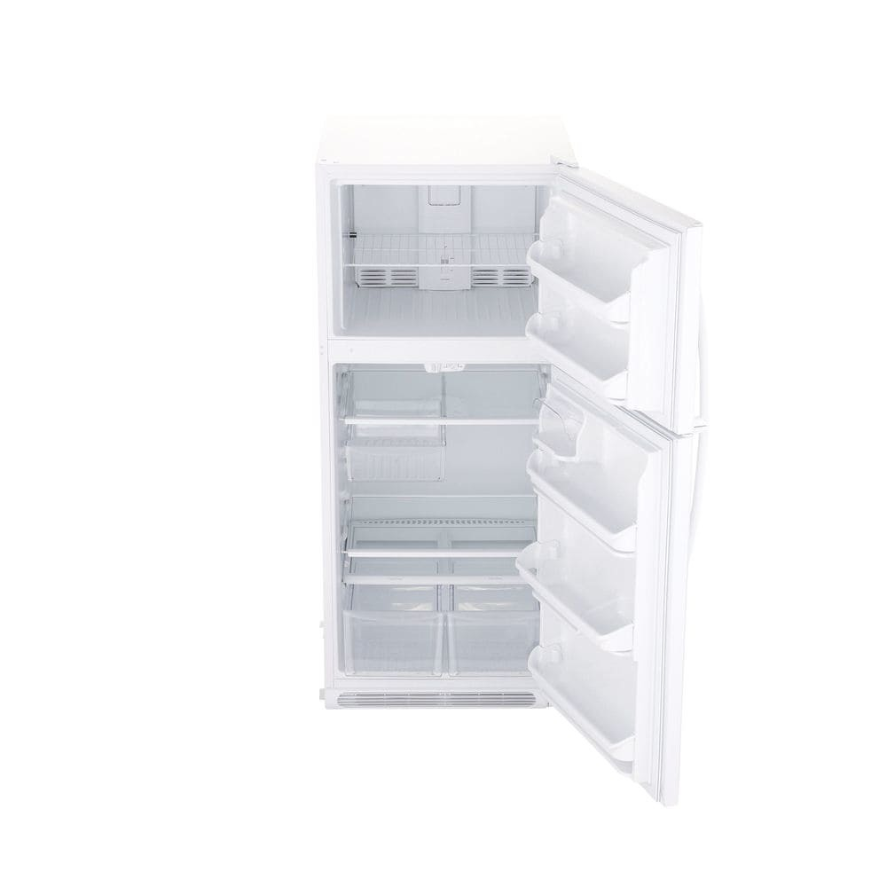 Shop Frigidaire 204 Cu Ft Top Freezer Refrigerator White At Chest Zer Wiring Diagram Fftr2021tw 360 Spin 3 Press Enter To Zoom In And Out