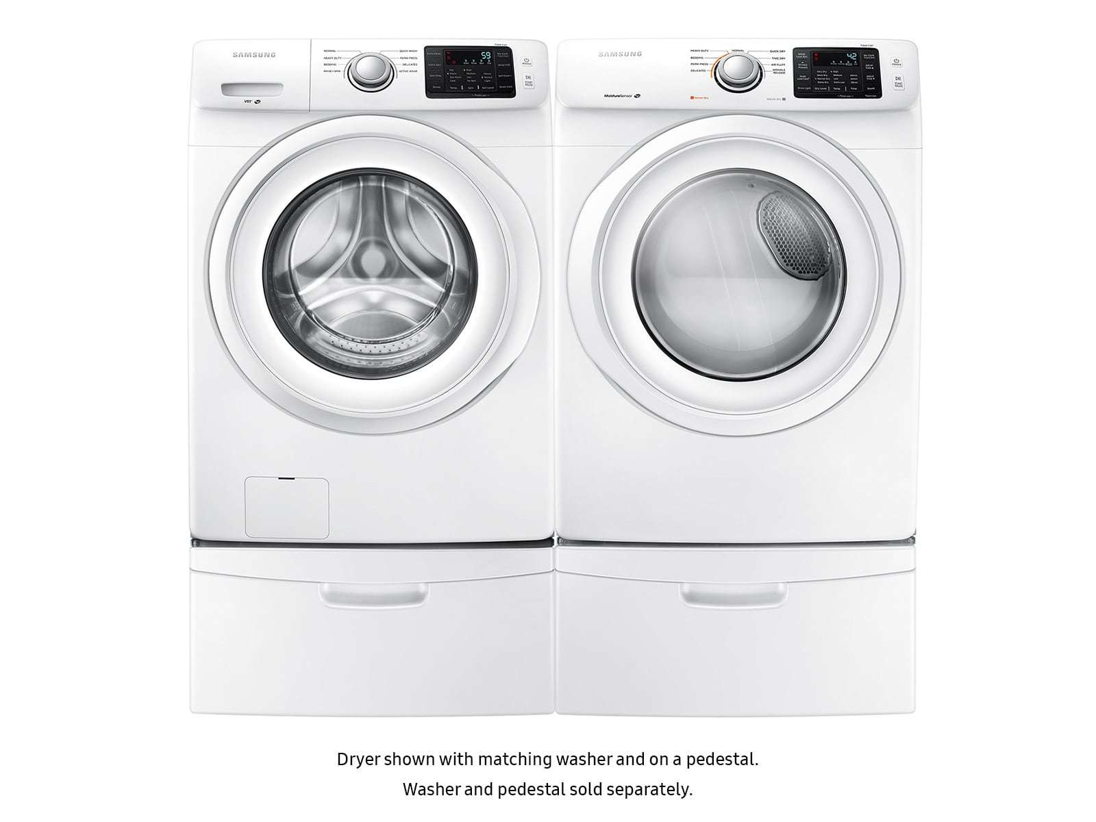 Samsung 7 5 Cu  Ft  Gas Dryer with Sensor Dry in White | Nebraska