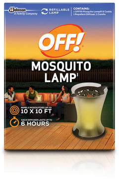 off mosquito lamp instructions