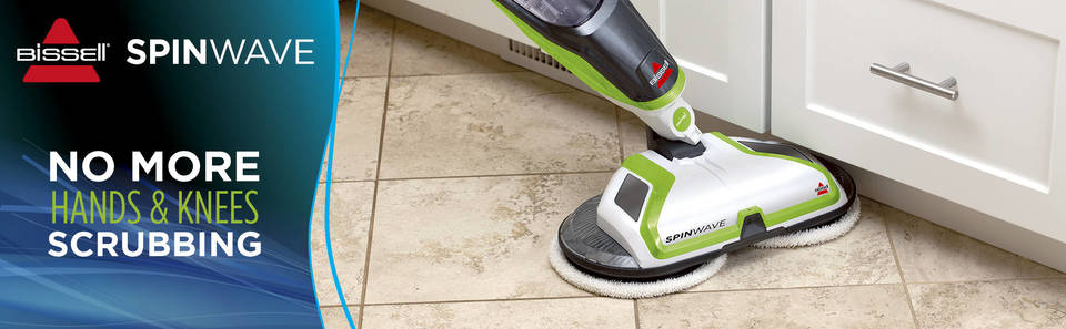 kitchen floor cleaning machines bissell 174 spinwave powered floor mop target 4768
