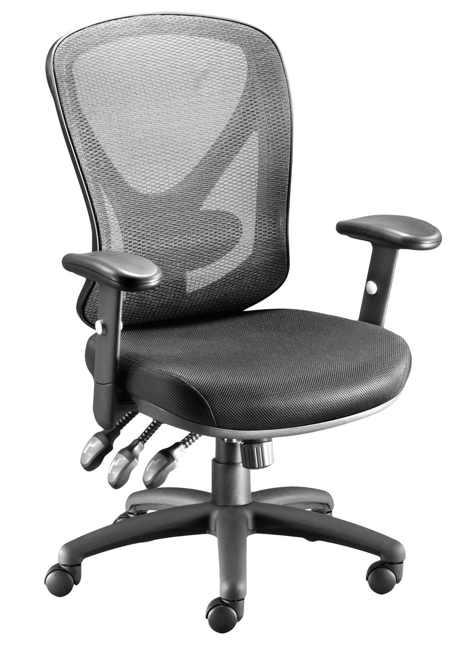 Desk stools are perfect for comfortable work best computer chairs - Staples Carder Mesh Office Chair Black