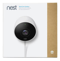 Nest Cam Outdoor packaging