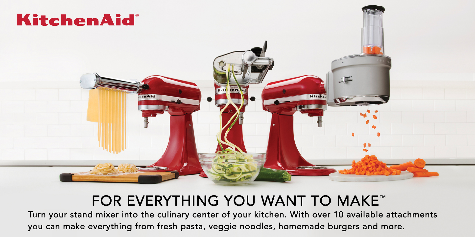 Kitchenaid For Everything You Want To Make