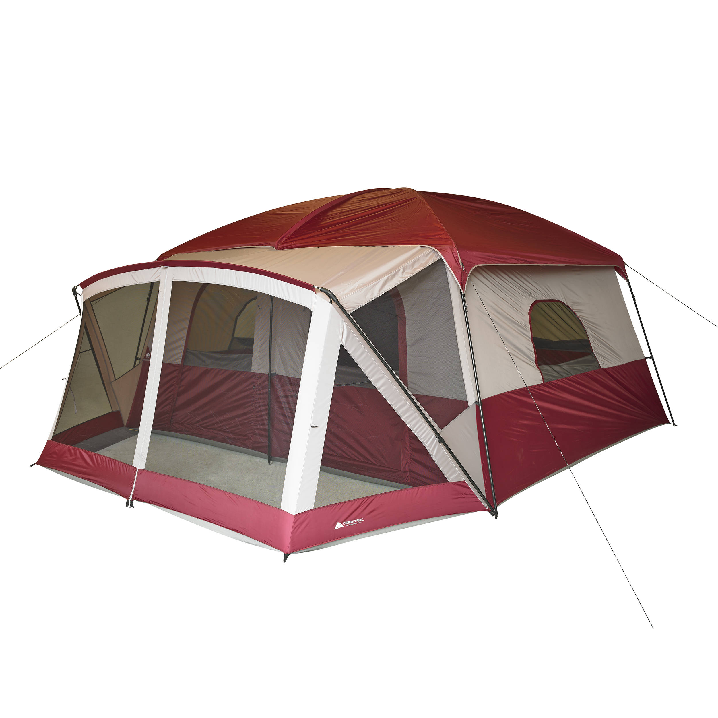 Ozark Trail Base Camp 14 Person Cabin Tent Walmart Com