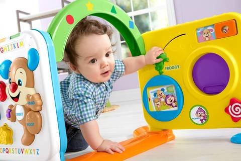 6a0dd6098 Fisher-Price Laugh   Learn Crawl-Around Learning Center   Target