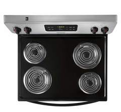 Frigidaire Electric Freestanding Range: FFEF3016TM, Cooking surface
