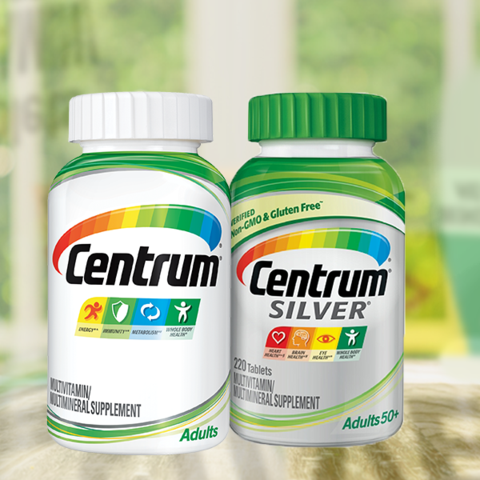 Centrum silver multivitamin supplement for adults 50+ dating
