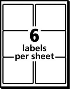 Avery TrueBlock Laser Shipping Labels, Sure Feed Technology, White, 150/Box  (5264)