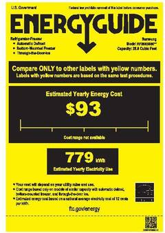 View Energy Consumption Guide Label PDF