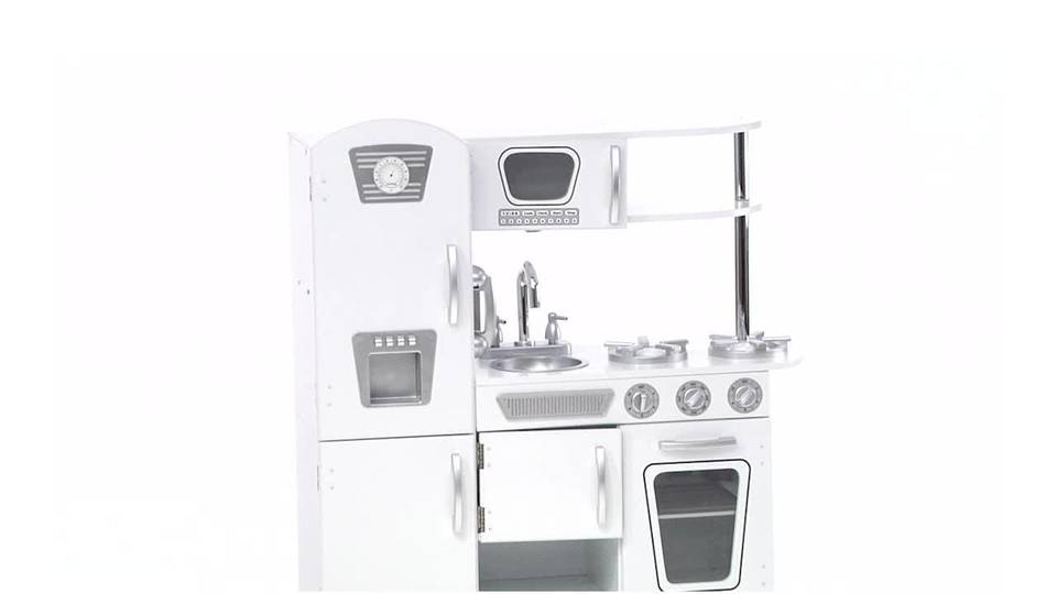 Kidkraft Kitchen White kidkraft vintage play kitchen - white - walmart