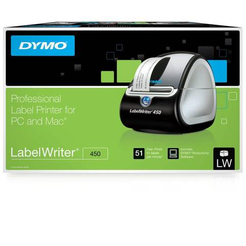 DYMO LabelWriter 450 Label Printer For PC Or Mac by Office Depot ...