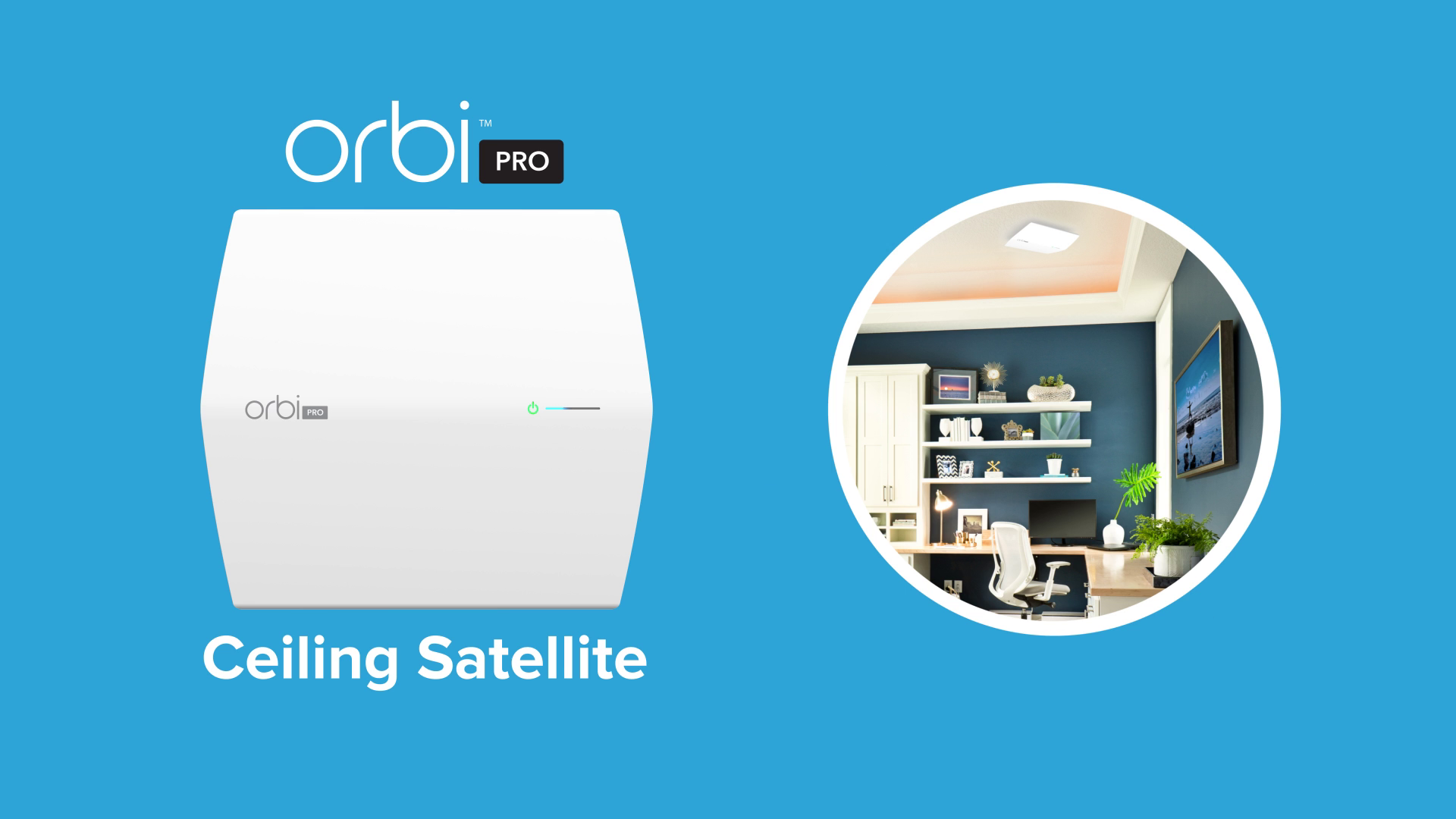 Netgear SRC60 Add-on Orbi Pro Ceiling Satellite