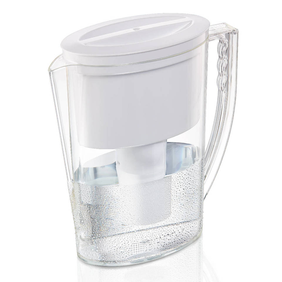 Brita 10 Cup Everyday BPA Free Water Pitcher With 1 Filter, White    Walmart.com