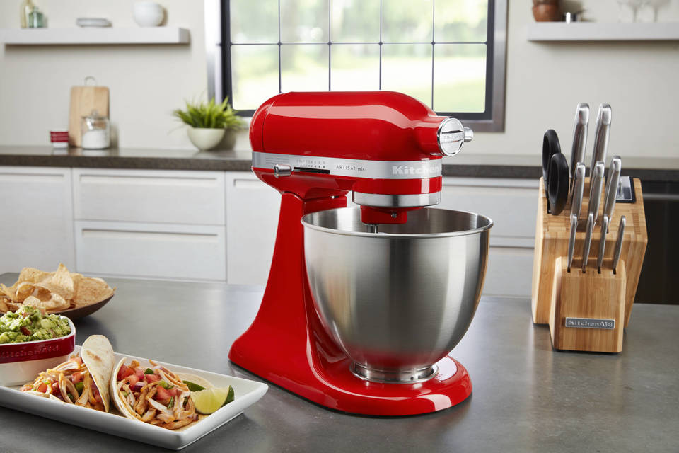 Kitchenaid Mini 3 5 Quart Tilt Head Stand Mixer