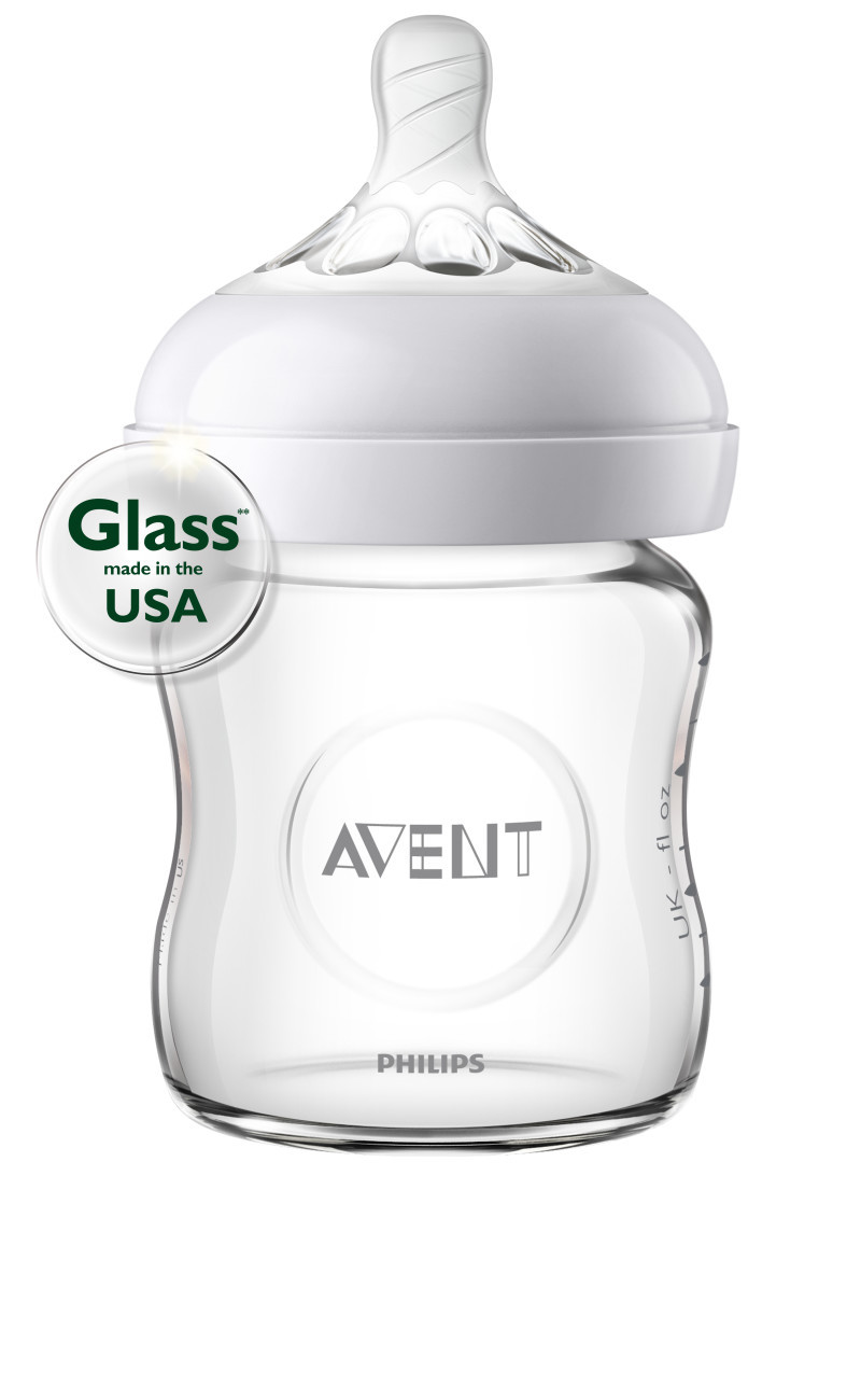 Philips Avent Natural Glass Baby Bottle 4oz Target Gift Set Newborn