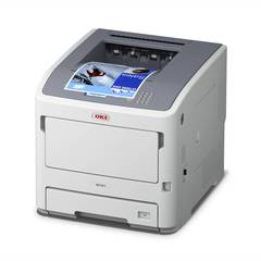 OKI B721dn with paper output