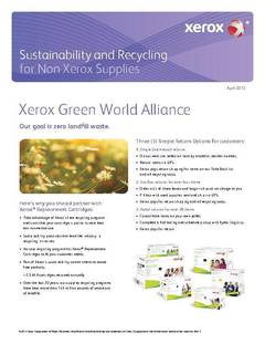 View XRC Sustainability Brochure PDF
