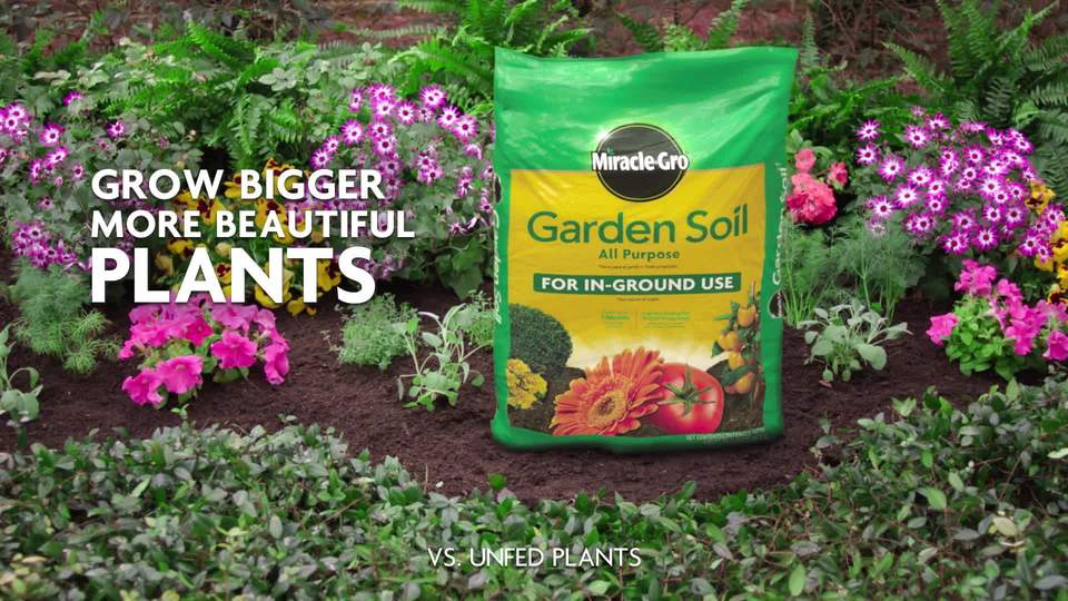 miracle gro garden soil all purpose 2 cf walmartcom - Miracle Gro Garden Soil
