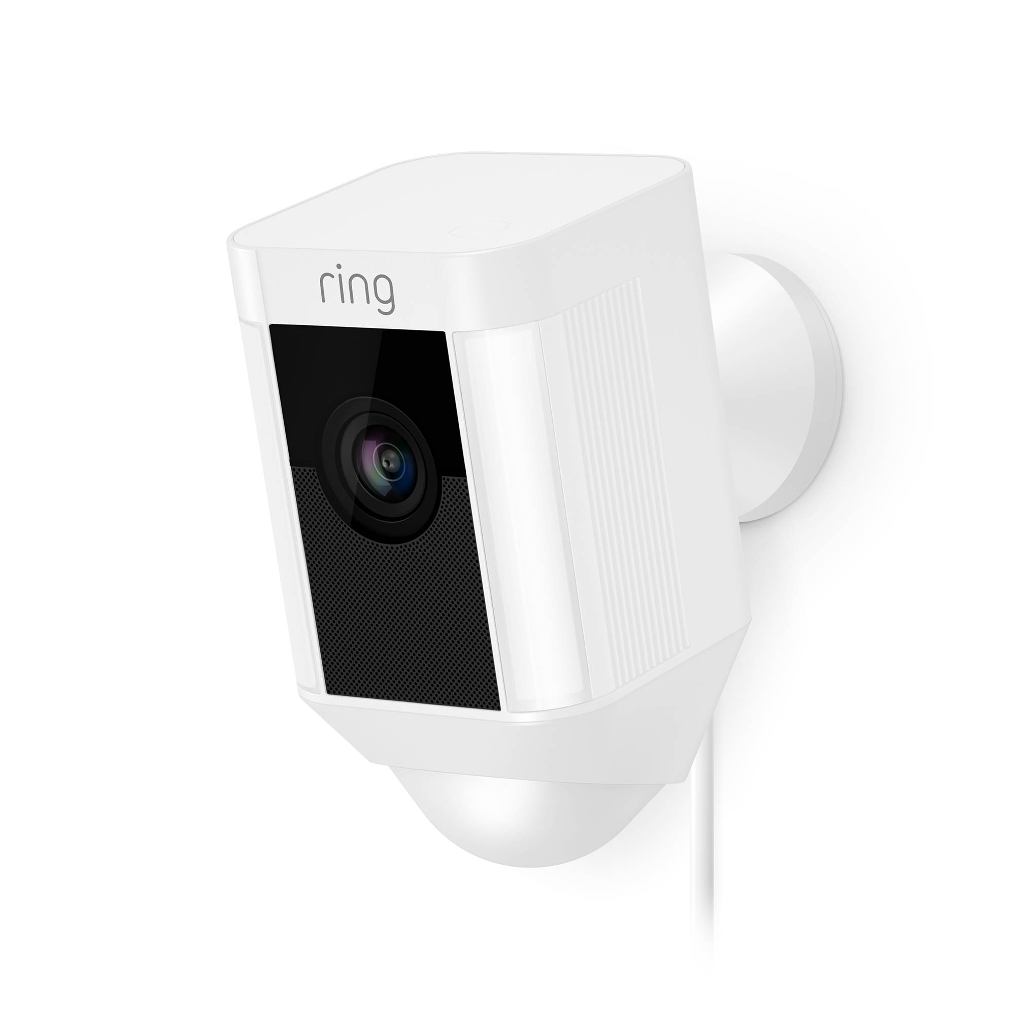 Ring Spotlight Cam Wired White by Office Depot & OfficeMax