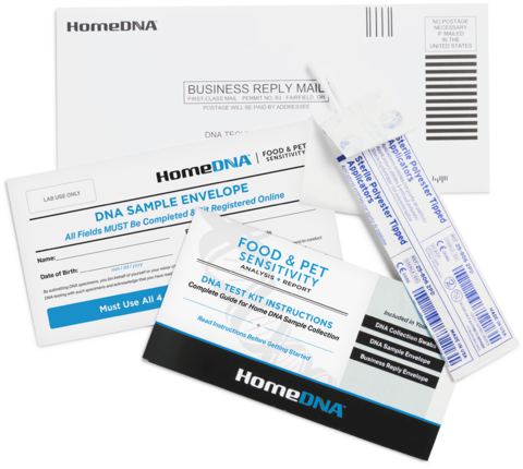 HomeDNA Food & Pet Sensitivity Test