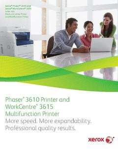 View Brochure - Phaser 3610 PDF