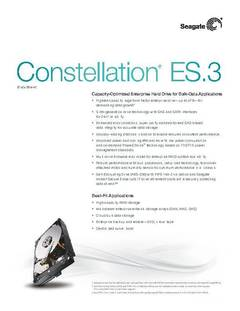 View Constellation ES.3 Data Sheet PDF